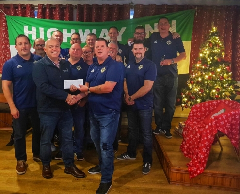 Highway Inn NISC raise funds for Cancer Fund for Children