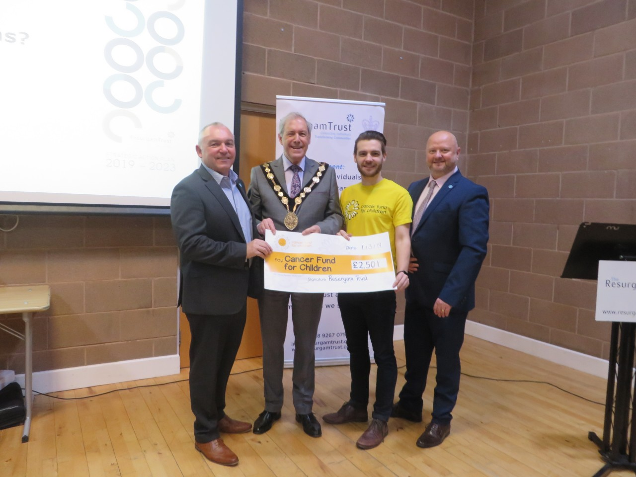 Resurgam raise £2501 for Cancer Fund for Children