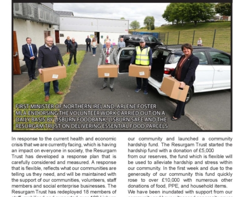 Resurgam News 19th Edition front page