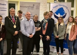 Resurgam Youth Bank present their inaugural awards to the successful groups